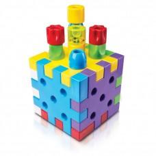 Κατασκευή με Βάφλες- Qubo First Blocks 4045