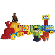 Eκπαιδευτικό τρένο με αυτοκόλλητα 8630-0000 Androni