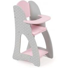 Doll's High Chair 520 91 Bayer Chic 2000 Puntos Grey