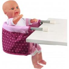 Επιτραπέζιο κάθισμα κούκλας lila/rosa 735 29 Bayer Chic 2000