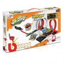 Bburago Go Gears Supersonic Launch Playset 1 Car 18-30533
