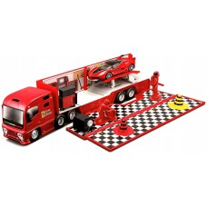 Bburago 1:43 Ferrari Race and Play Hauler 18-31202