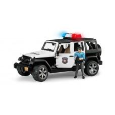 Bruder Τετρακίνητο όχημα Wragler Αστυνομίας με αστυνομικό 02526
