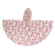 Παιδική αδιάβροχη κάπα φλαμίγκο ροζ PL355