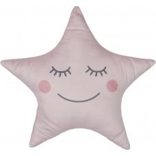 Μαξιλάρι αστέρι ροζ 37 x 44 cm TX9064