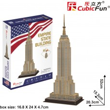3D Puzzle Empire State Building 54τεμ CF0246 Cubic Fun