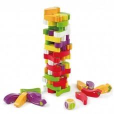 Πύργος ισορροπίας με ζάρι W13D078 Evatoys
