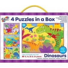 Παζλ Δεινόσαυροι 12,16,20,24 τεμ 1004735 Galt