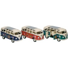 Goki Μεταλλικό Volkswagen Classic Bus printing 3χρ 1:24 12176