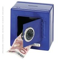 Goki Κουμπαράς Χρηματοκιβώτιο - Μπλε