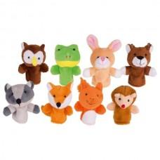 Goki Σετ Δαχτυλόκουκλες-Ζώα του Δάσους 50962