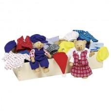 Ντύσε την Benna & Bennoh-Εύκαμπτες μαριονέτες 51914 Goki