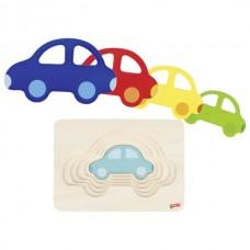 Goki Παζλ 5 επιπέδων Αυτοκίνητο 57485