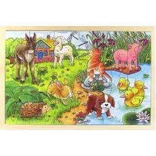 Παζλ 24τεμ Baby animals II 57890 Goki