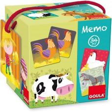 Παιχνίδι Memory Farm 34κομ. 53414 Goula
