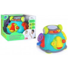 Karaoke Space Capsule Activity Toy with Music/Light 3119