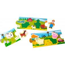 Farm Story Puzzle 10 τεμ 10626 Legler