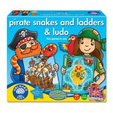 Πειρατές Φιδάκι και Γκρινιάρης 040 Orchard Pirate Snakes and Ladders & Ludo