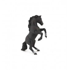 Papo Black Reared Up Horse 51522