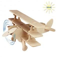 Ξύλινο κιτ κατασκευή ηλιακό Αεροπλάνο 17τεμ 830/5