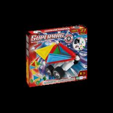 Μαγνητικές κατασκευές Tags Wheels 37τεμ 0180 Supermag