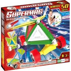 Μαγνητικές κατασκευές Supermag Wheels 50τεμ 0181 Plastwood
