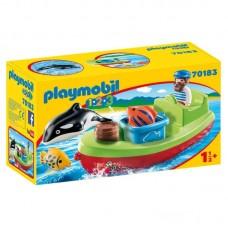 Playmobil 1.2.3 Αλιευτικό Σκάφος