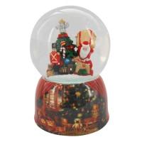 Χιονόμπαλα Santa Claus and Gifts Spieluhrenwelt 55057