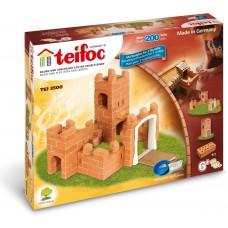 Teifoc Κατασκευή Κάστρο με κεραμικά τουβλάκια TEI3500