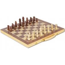 Natural Games Σκάκι ξύλινο 41X41εκ 61203818